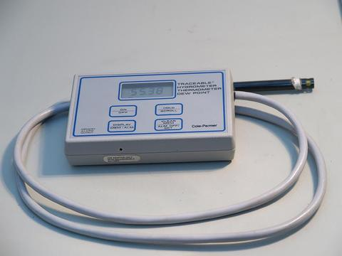 Cole-Parmer Thermohygrometer